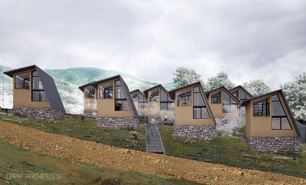 Mishim Mount Resort by Napp Architects