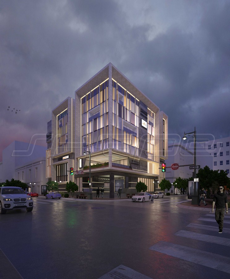 Damon office commercial complex by Shape design