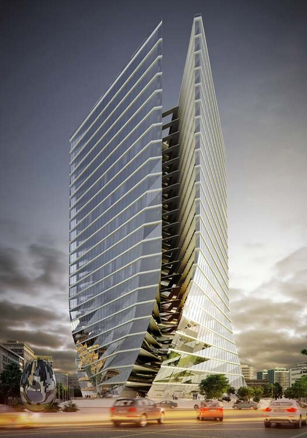 Ekhtiarieh Tower by Xema Architects