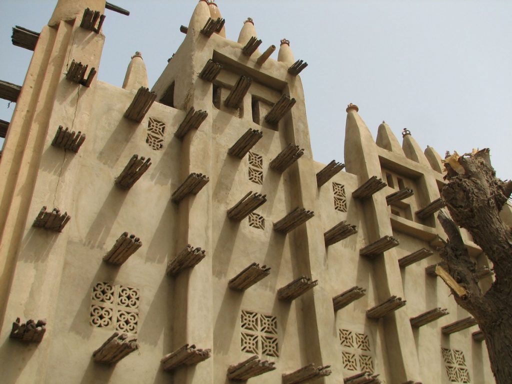 Great Mosque of Djenné, Mali (Africa)