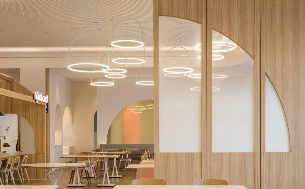 Vitaland kid restaurant by Golucci Interior Architects - Sheet1