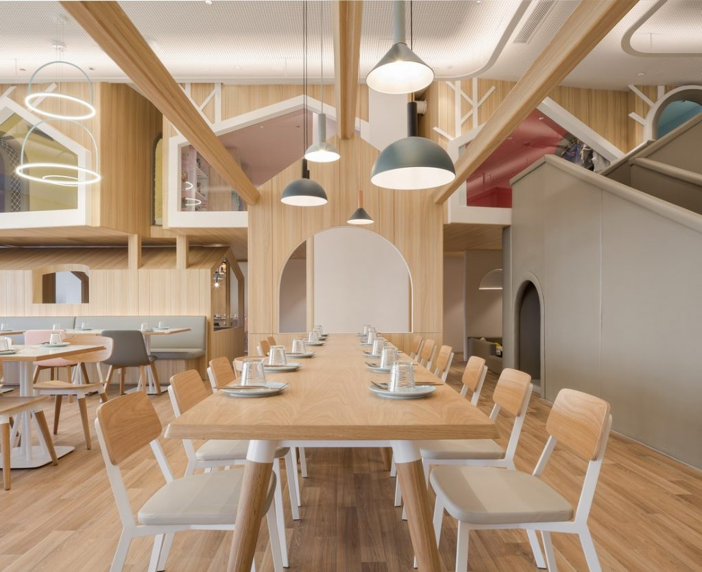 Vitaland kid restaurant by Golucci Interior Architects - Sheet5
