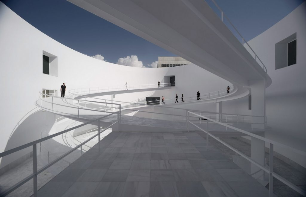Top Architecture firms in Madrid - Museum of Memory by Alberto Campo Baeza Architects