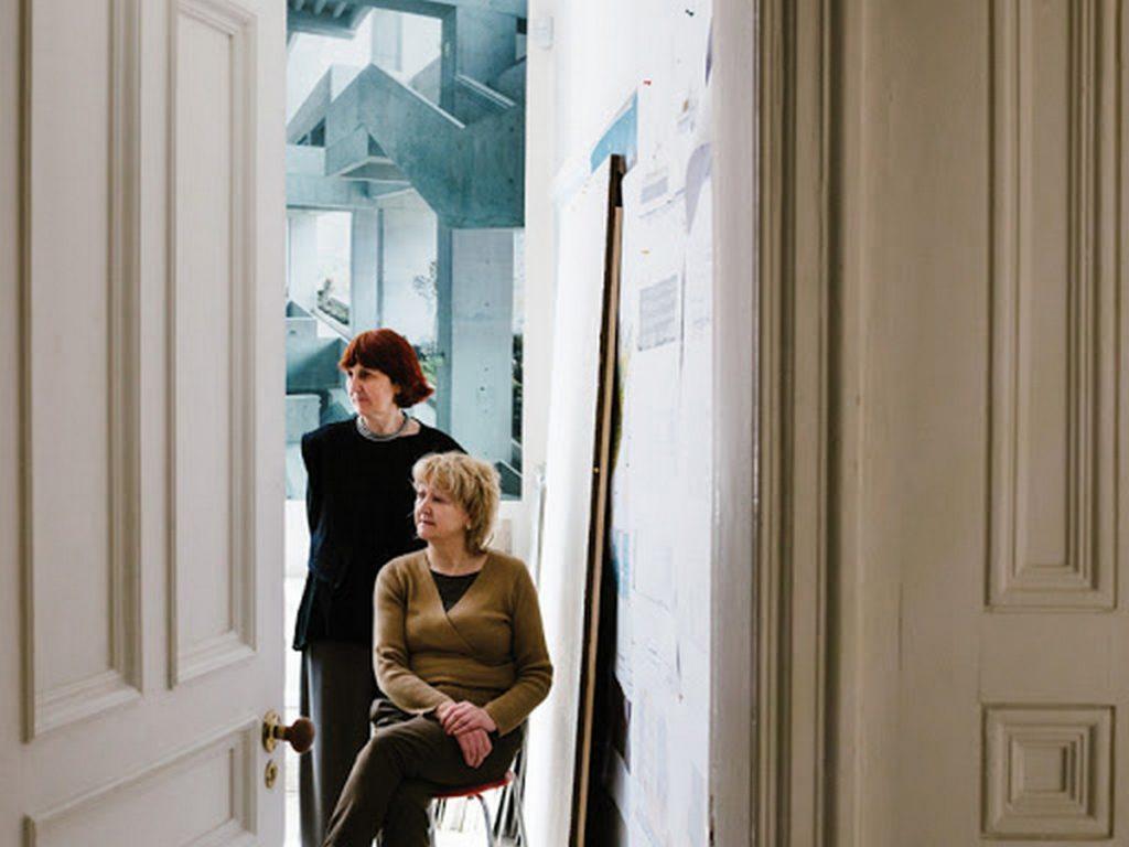 Architects Yvonne Farrell and Shelley McNamara