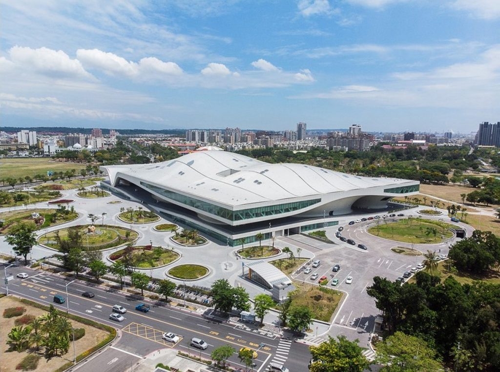 Top Architecture Firms in Taipei Taiwan - National Kaohsiung Performing arts center by Archasia