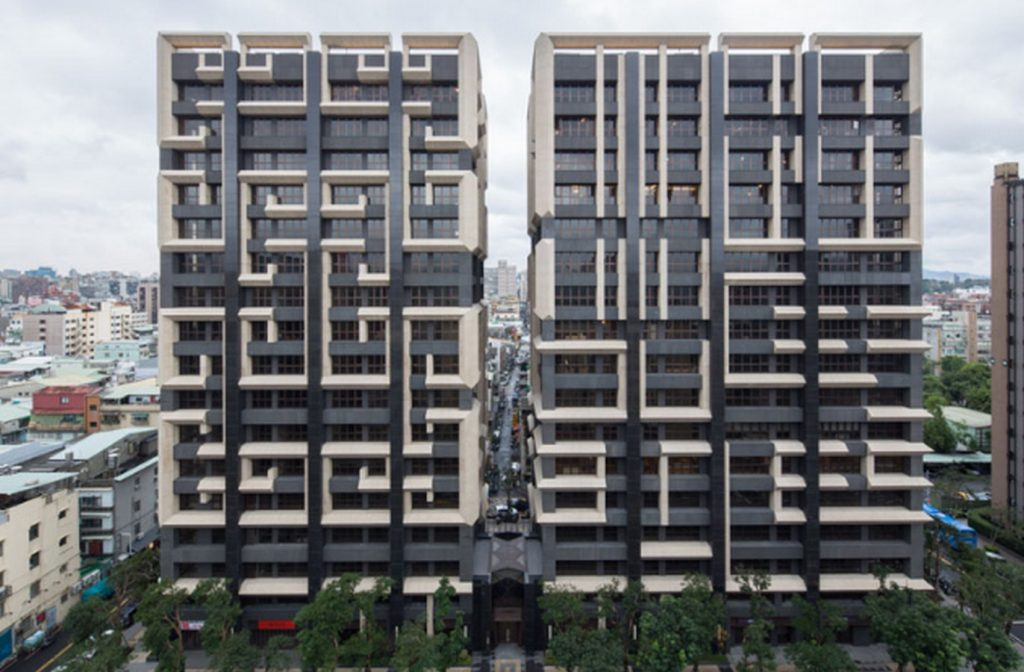 Taiwan Architecture Firms in Taipei Taiwan - East & West urban renewal housing project by King Shih