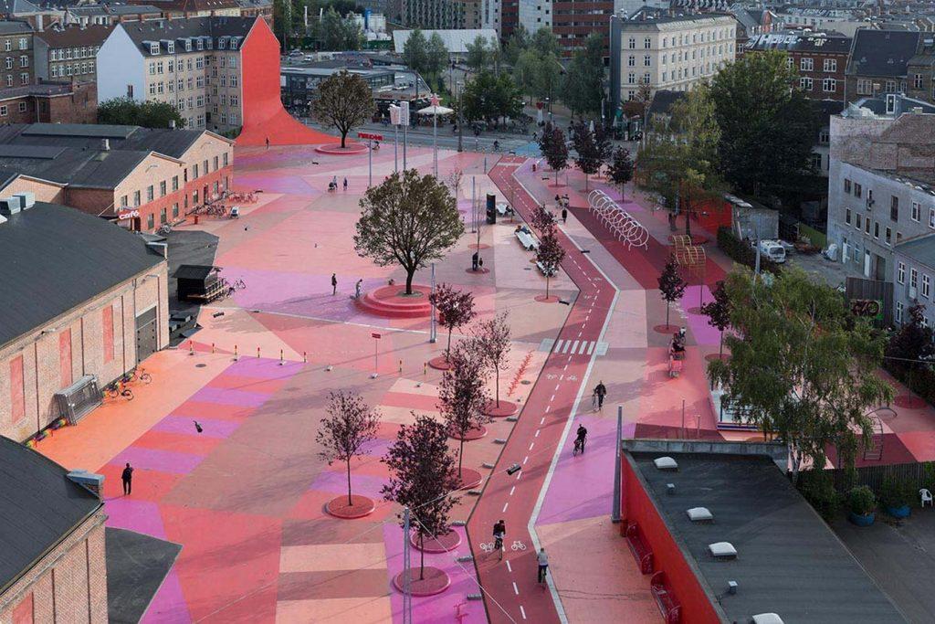 15 Places to visit in Copenhagen-Superkilen Park -2