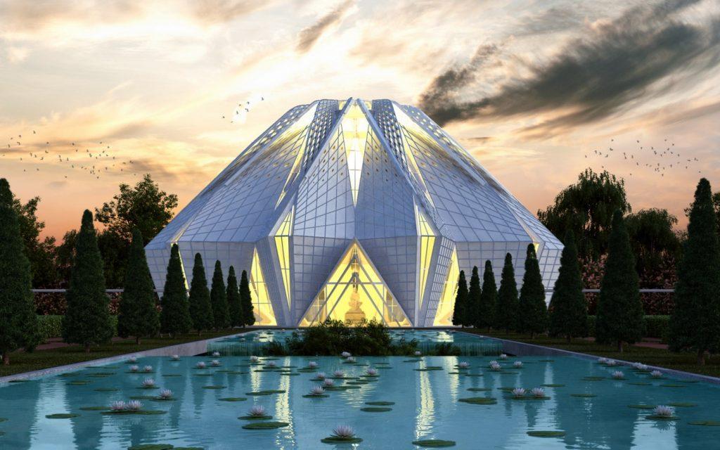 Sheila Shri Prakash - Sai Baba Temple -Shilpa Architects