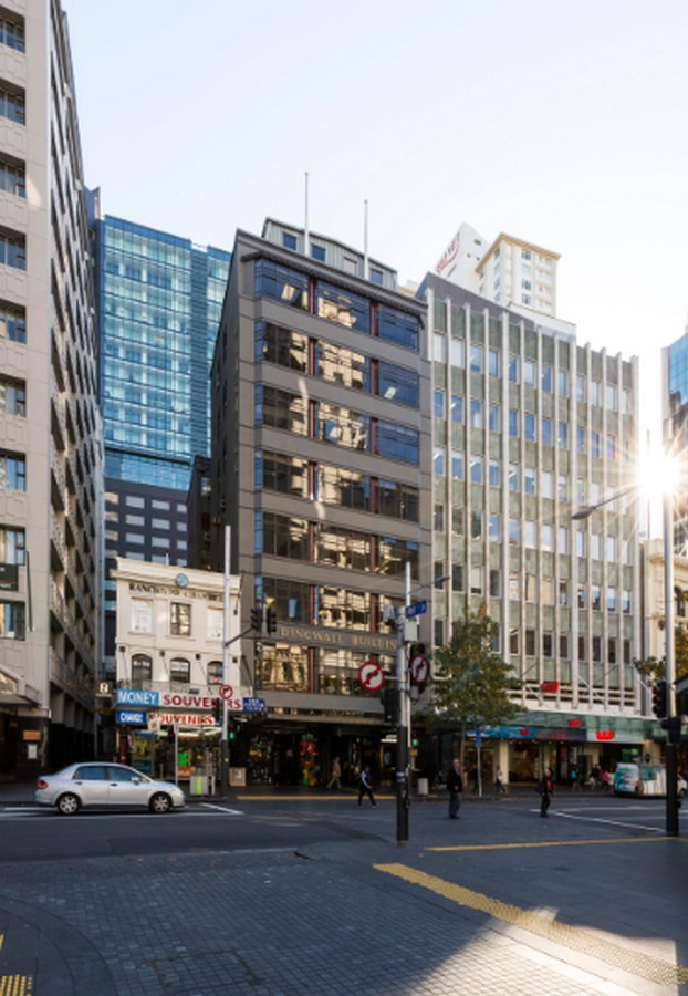 Top Architecture Firms in Auckland New Zealand - Historical Dingwall Building by Caaht