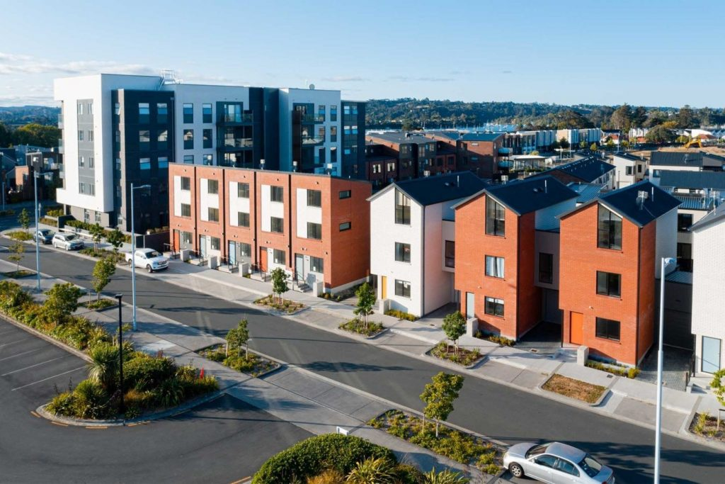 Top Architect Firms in Auckland New Zealand - Kerepeti Residential development by Context Architects