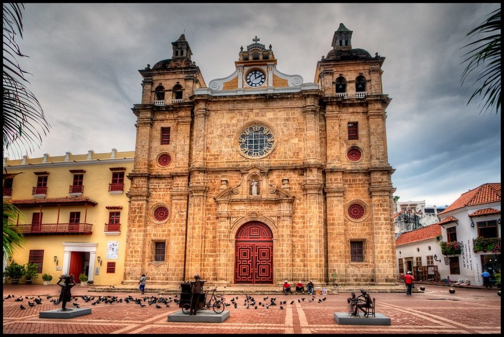 Places to visit in Cartagena-ChurchofSanPedroClaver -1