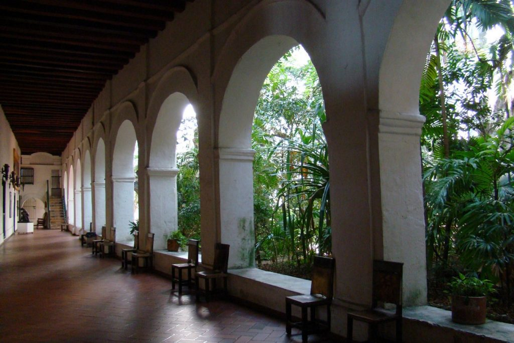 Places to visit in Cartagena-ChurchofSanPedroClaver -3