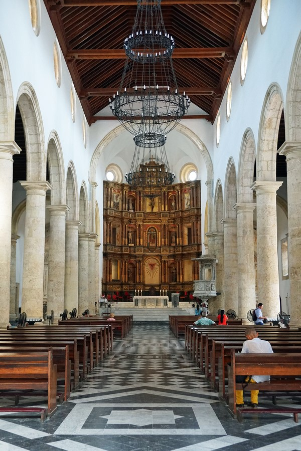 Places to visit in Cartagena-St.Catherine Basilicaof Alexandria -3