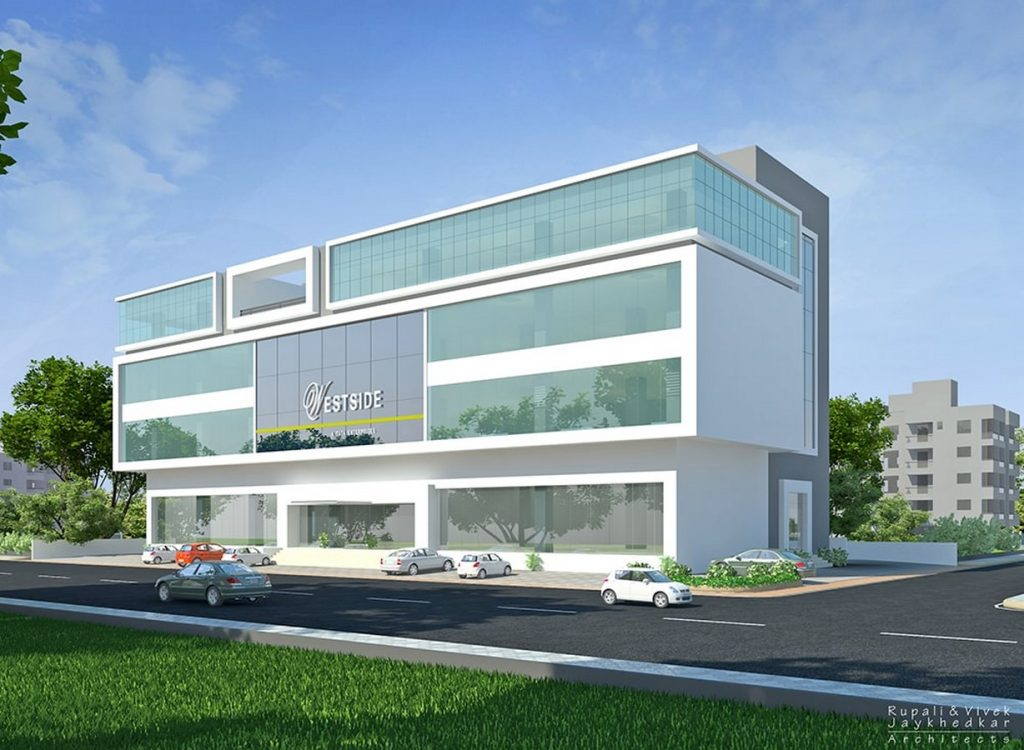 Westside Store, Nashik by Rupali & Vivek Jaykhedkar Architects