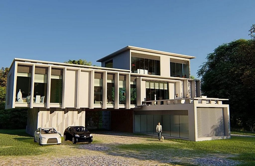 Farm House, Panvel by Sumit Dhake Architects