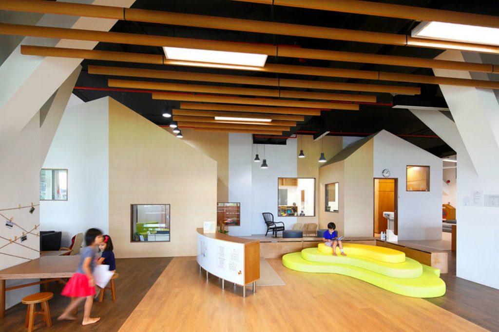Caterpillar's Cove Preschool by Lekker Architects