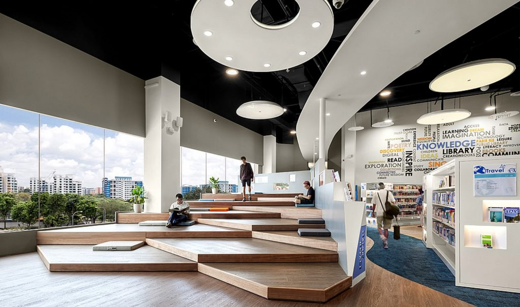 Pasir Ris Public Library by Look Architects
