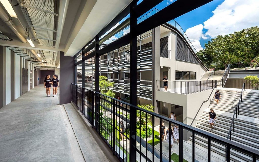 Nanyang Girls High School by Park+ Associates