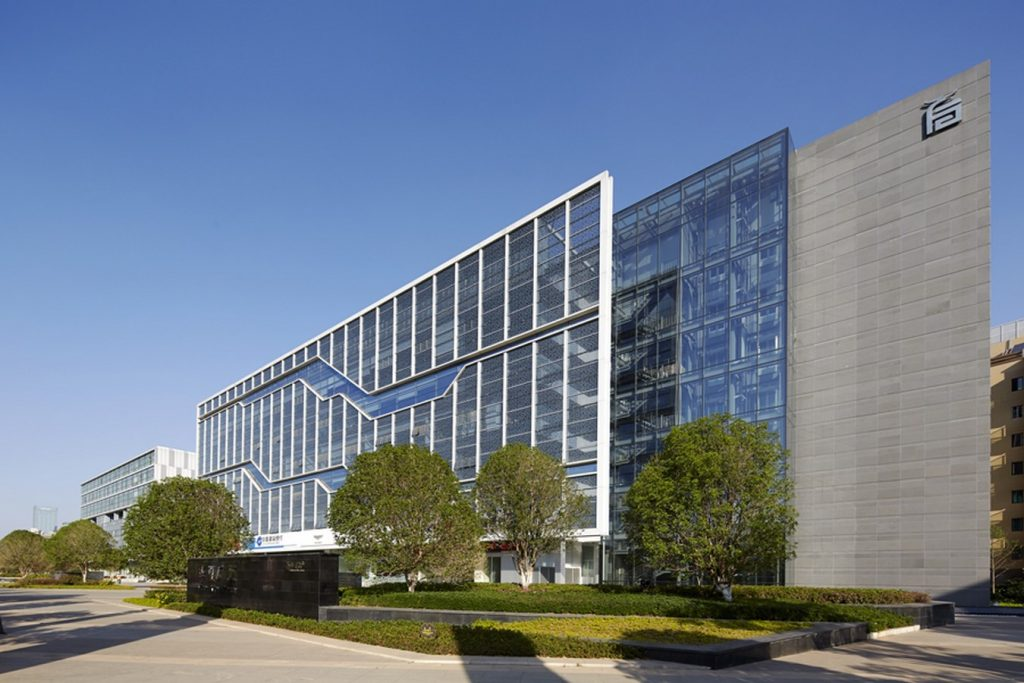 Huaxia Corporate Office by SSA Group Architects