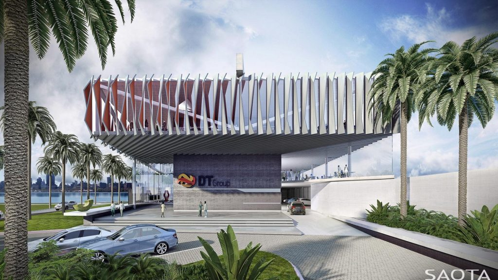 DT1, Luanda, Angola by SAOTA Architecture and Design