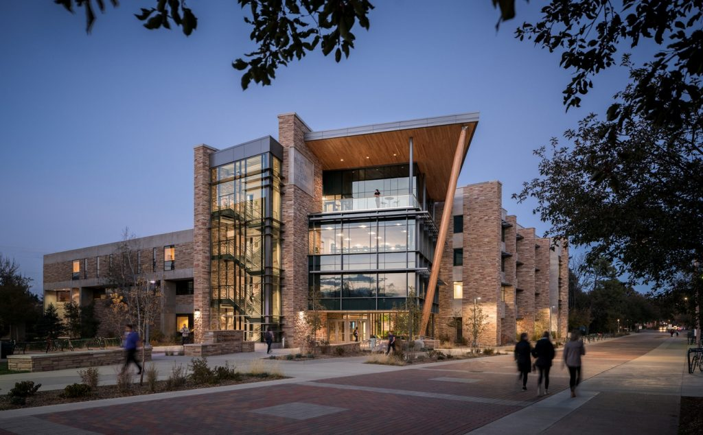 Architecture firms in Denver - Michael smith natural resources building addition at Fort Collins, Colorado