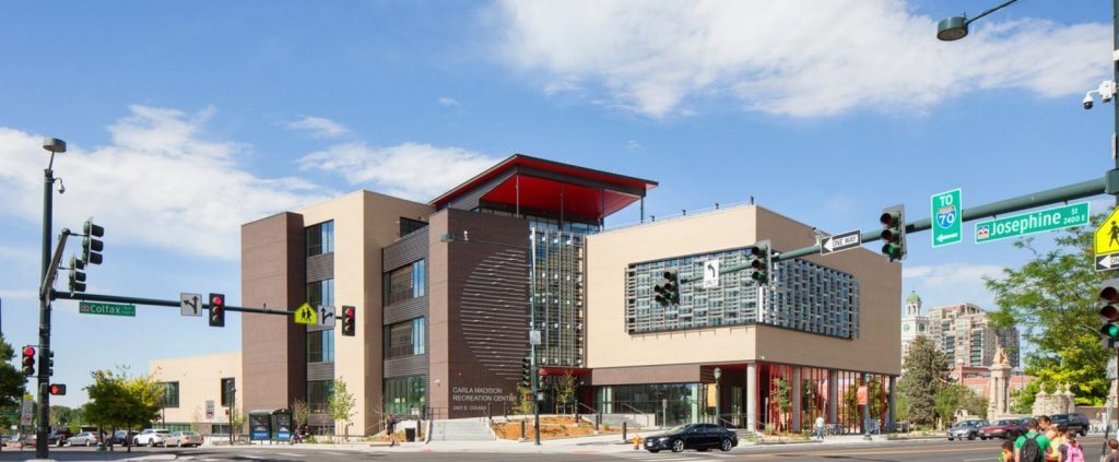 Architecture firms in Denver - CARLA MADISON RECREATION CENTER (CENTRAL DENVER)