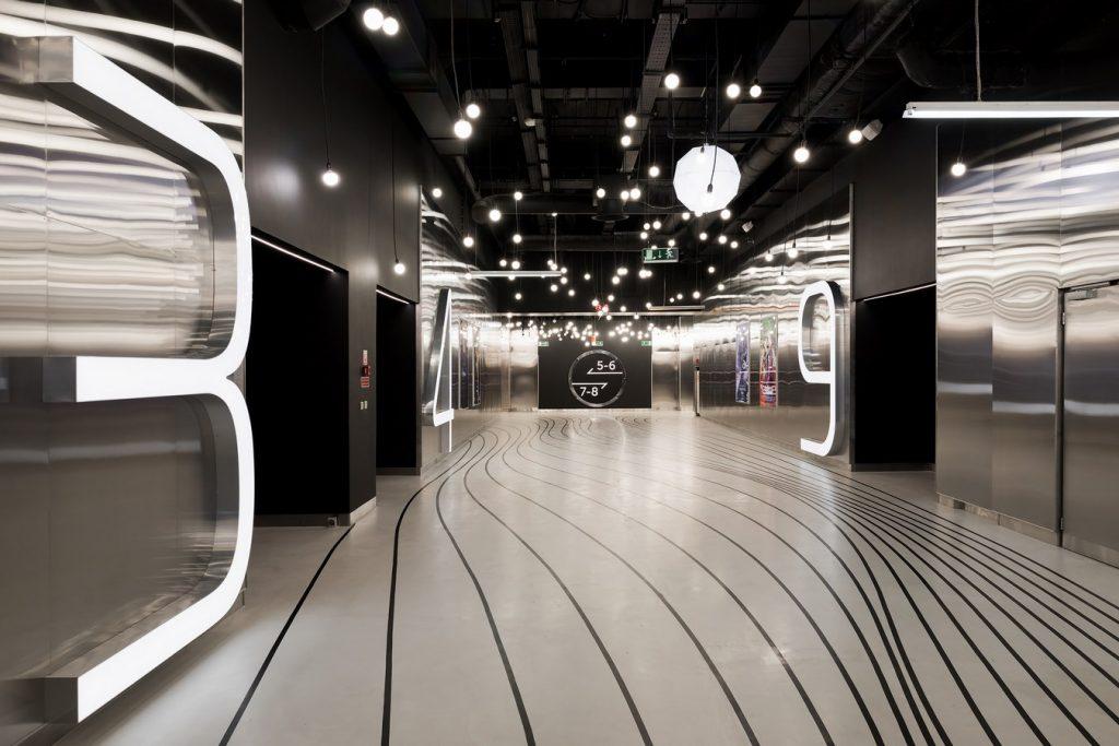 Interior of a Cinema Park Nefa Architects