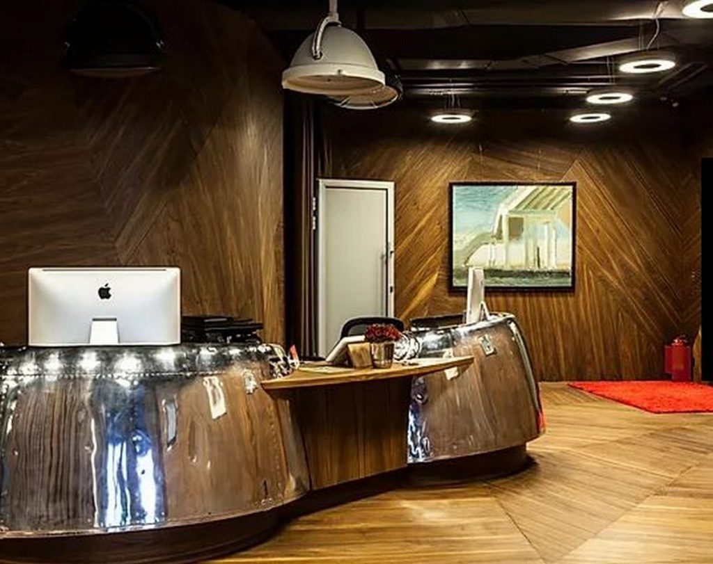 Avialeasing Representative Office. Federation Tower. Moscow NOOR Architects