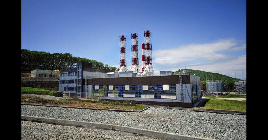 Mini-CHP on Russky Island RIANCO Company LLC