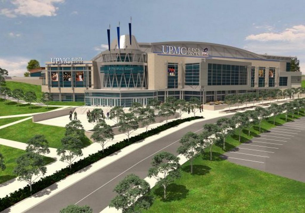 UPMC Events Center by Ross Bianco Architects PC