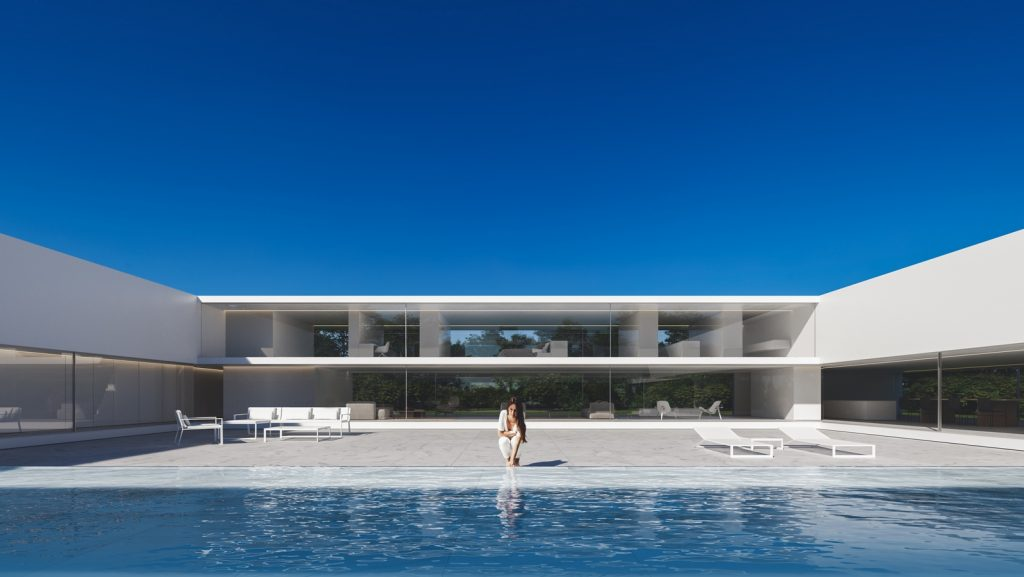 Compluvium House By Fran Silvestre Arquitectos - Sheet1