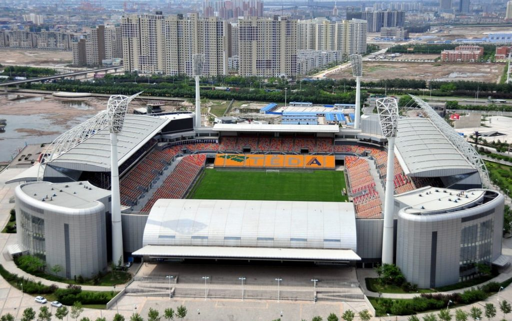 TEDA football stadium -3