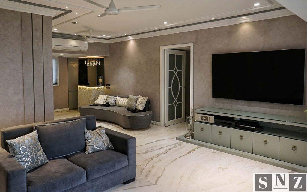 Residential Design by SNZ Designs Pvt. Ltd.