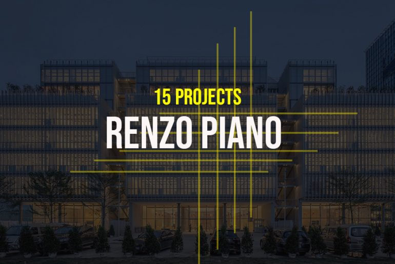 Renzo Piano- 15 Iconic Projects - Rethinking The Future