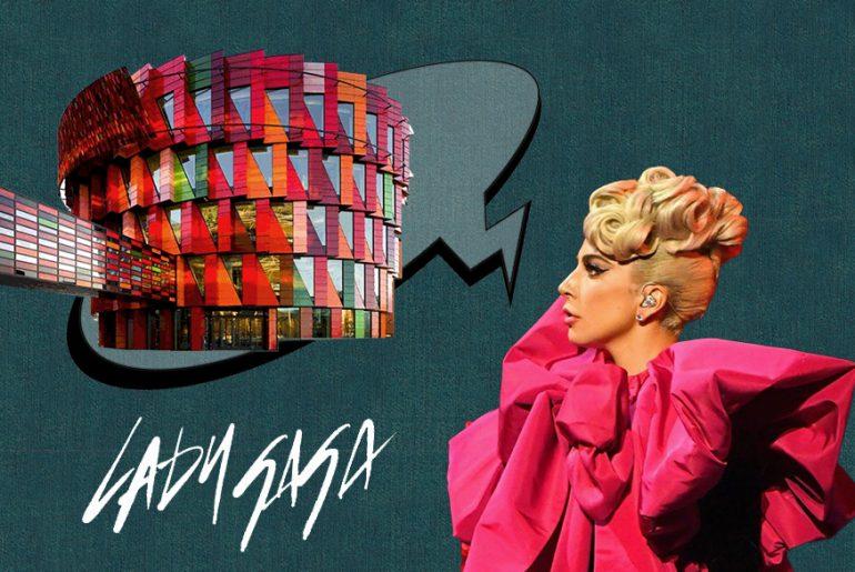Lady Gaga sa an Architect - Rethinking The Future
