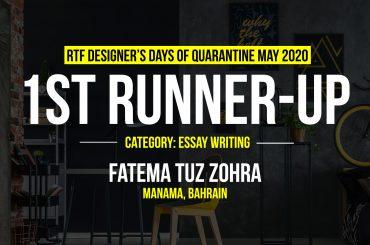 Blurred Lines and Quarantine by Fatema Tuz Zohra