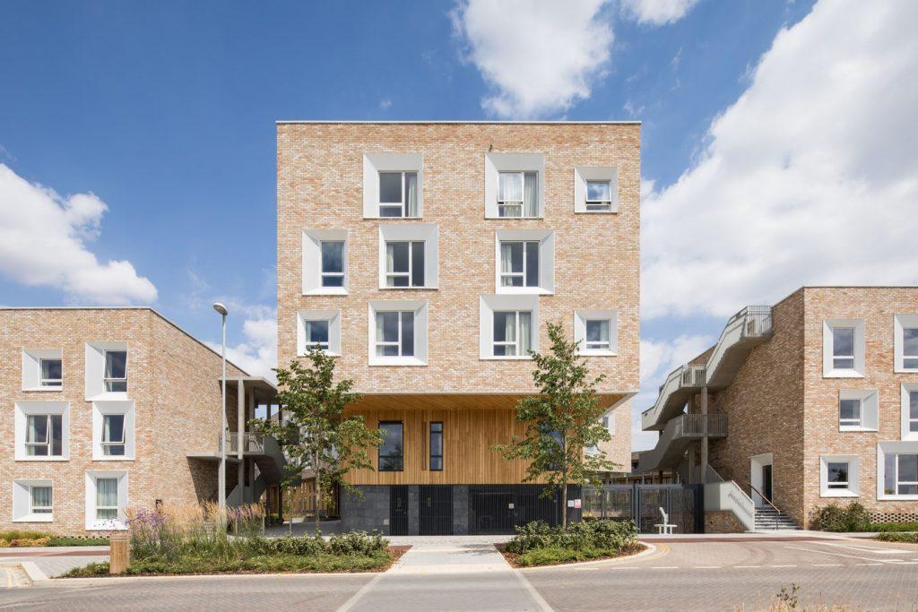 Key Worker Housing University of Cambridge By Mecanoo - Sheet1