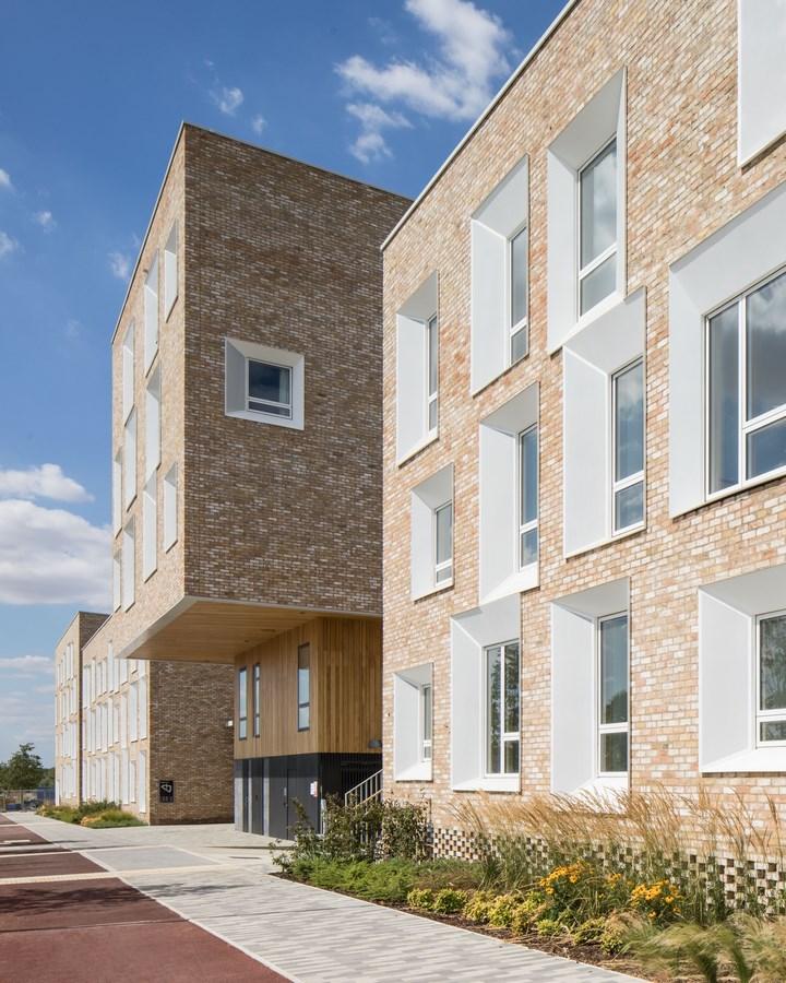 Key Worker Housing University of Cambridge By Mecanoo - Sheet2