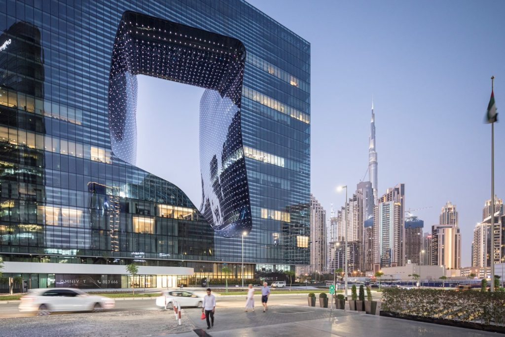 ME Dubai hotel at the Opus By Zaha Hadid Architects - Sheet2