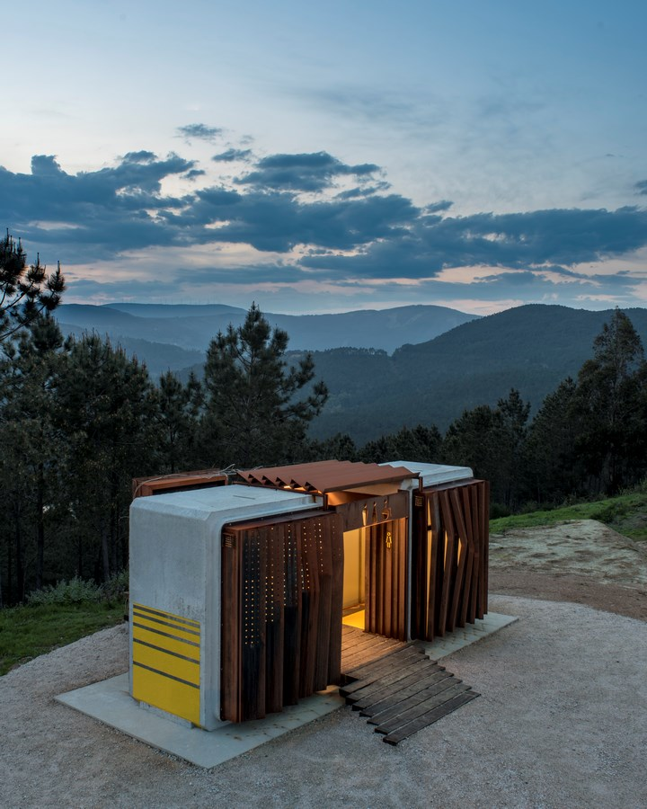 Ecological Public Restrooms in Trado By MOL Arquitectura - Sheet1