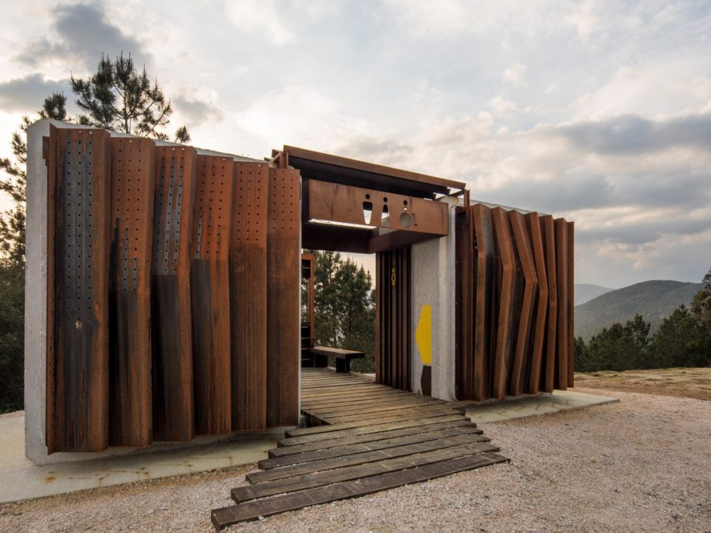 Ecological Public Restrooms in Trado By MOL Arquitectura - Sheet3