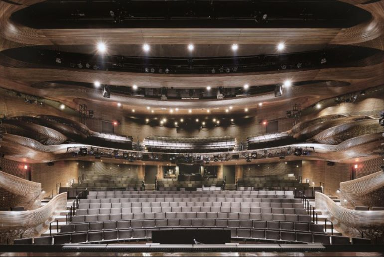 Coca-Cola Stage at the Alliance Theatre By Trahan Architects