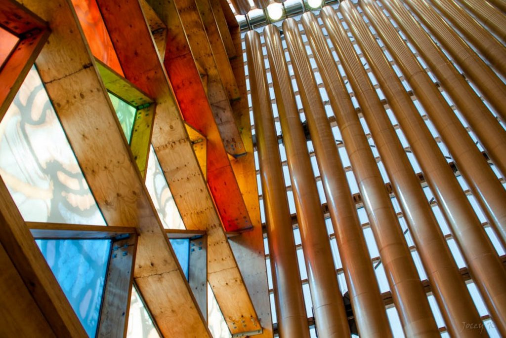 Alternative Materials- Cardboard Cathedral -3