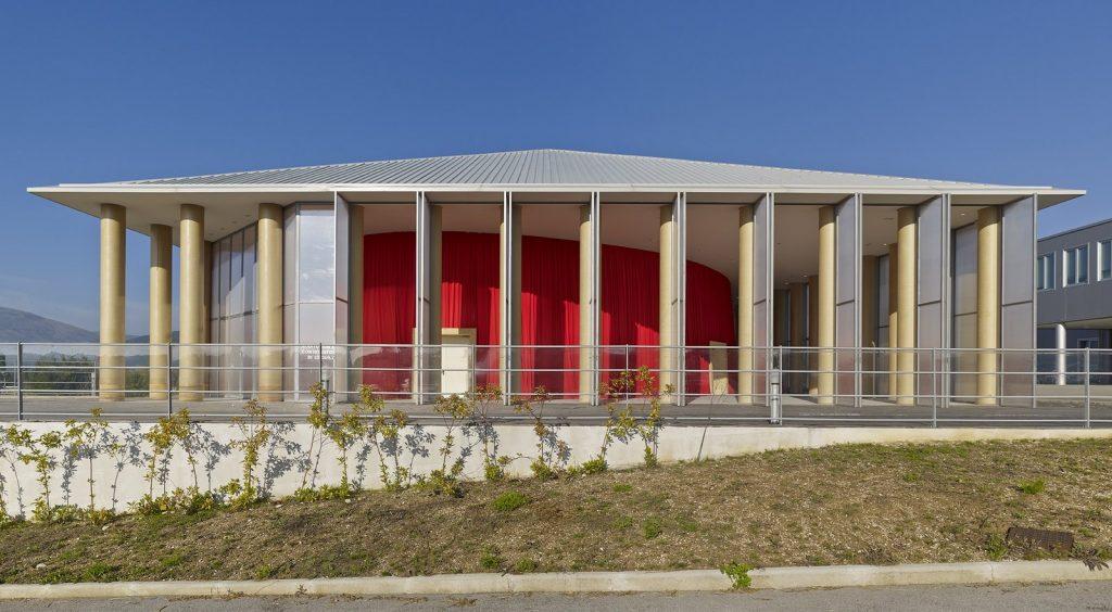 Alternative Materials Cardboard- Paper concert hall -2