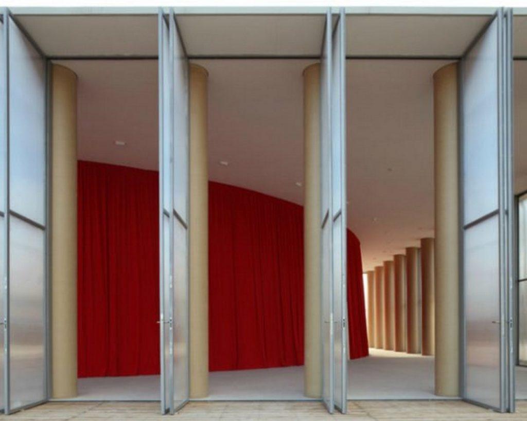 Alternative Materials Cardboard- Paper concert hall -3
