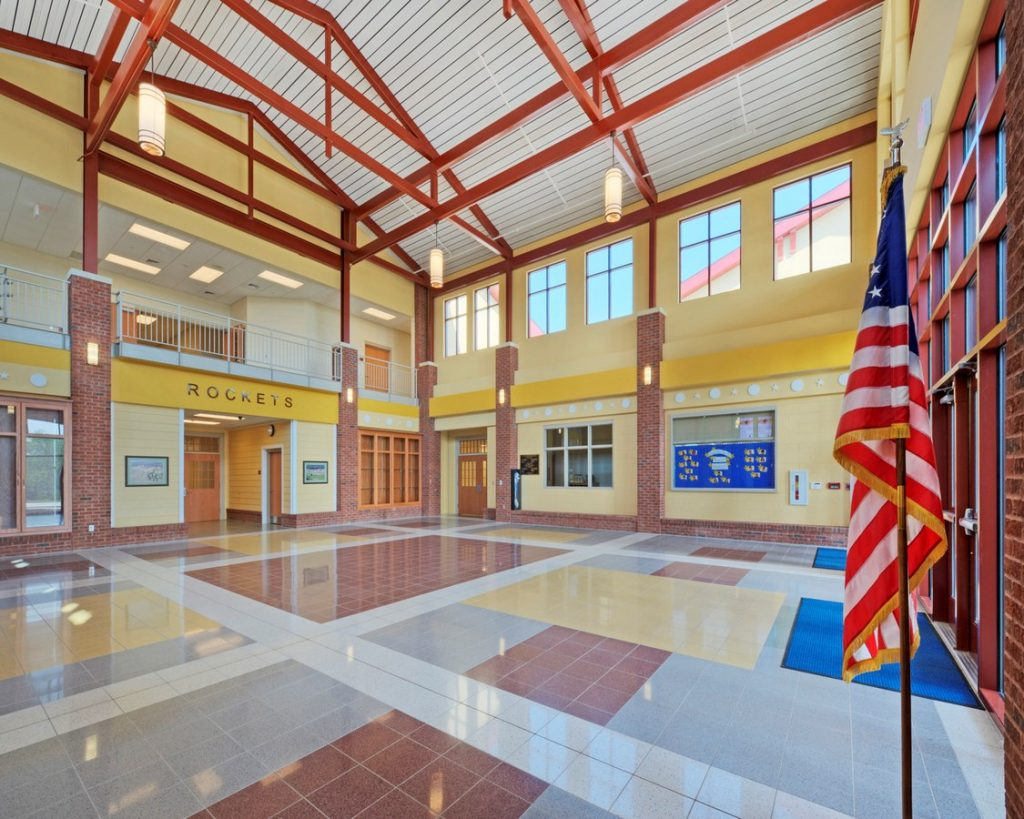 Iconic Projects-LS3P ASSOCIATES-RutherfordtonElementarySchool -4