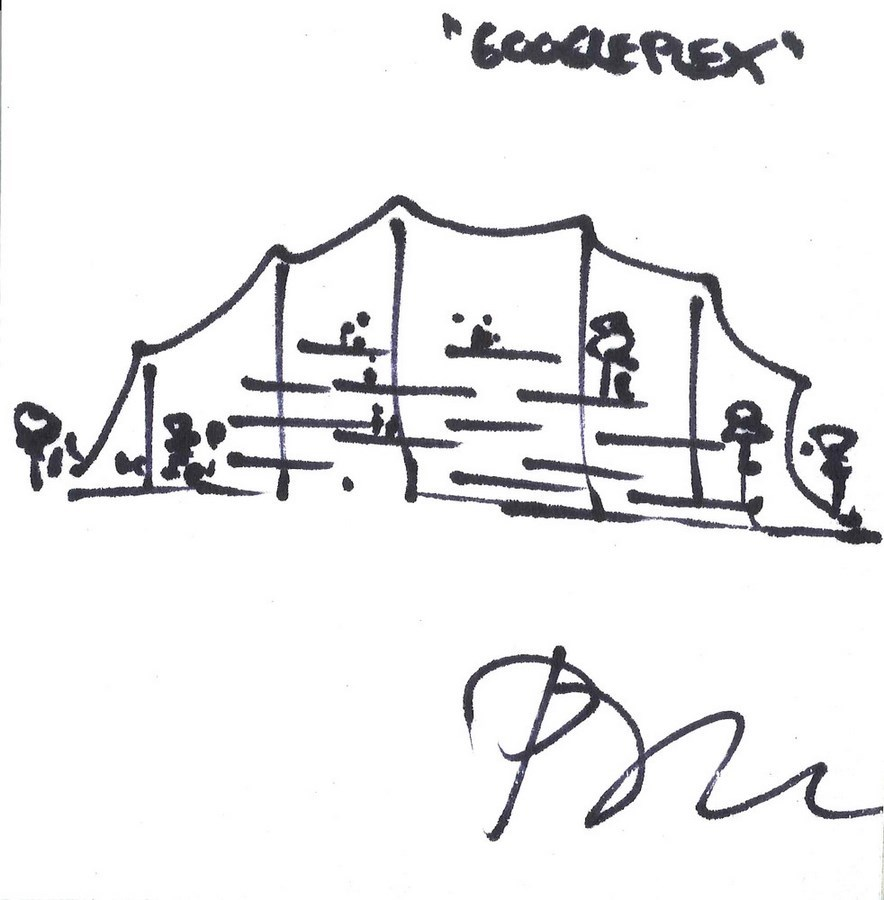 Sketches by famous architects-Bjarke Ingels -1