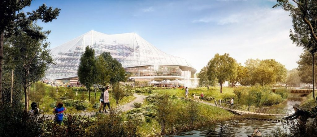 Sketches by famous architects-Bjarke Ingels -2