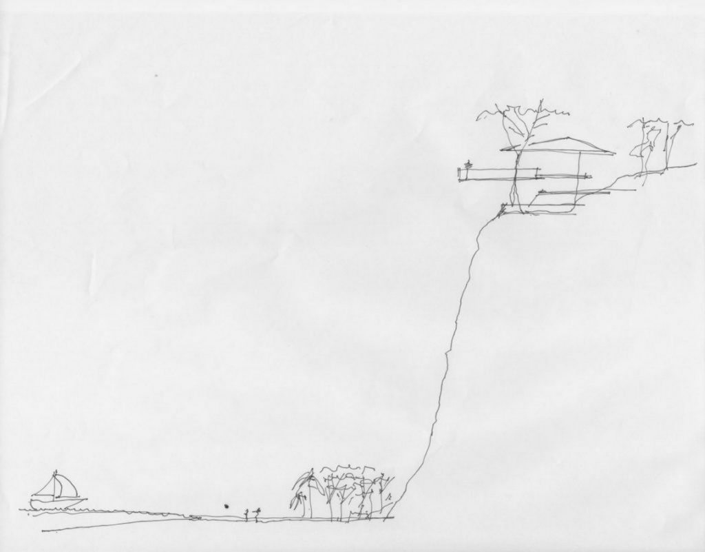 Sketches by famous architects- Canas Arquitectos -1