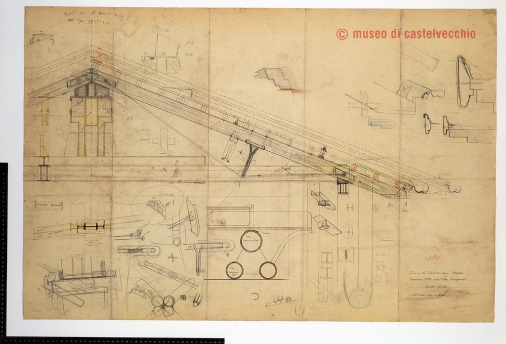Sketches by famous architects-Carlo Scarpa -1